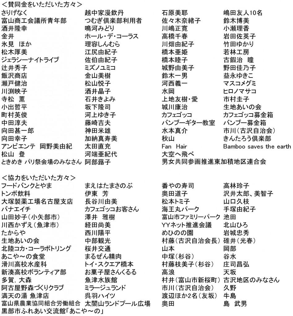 賛同・協力者名簿HP